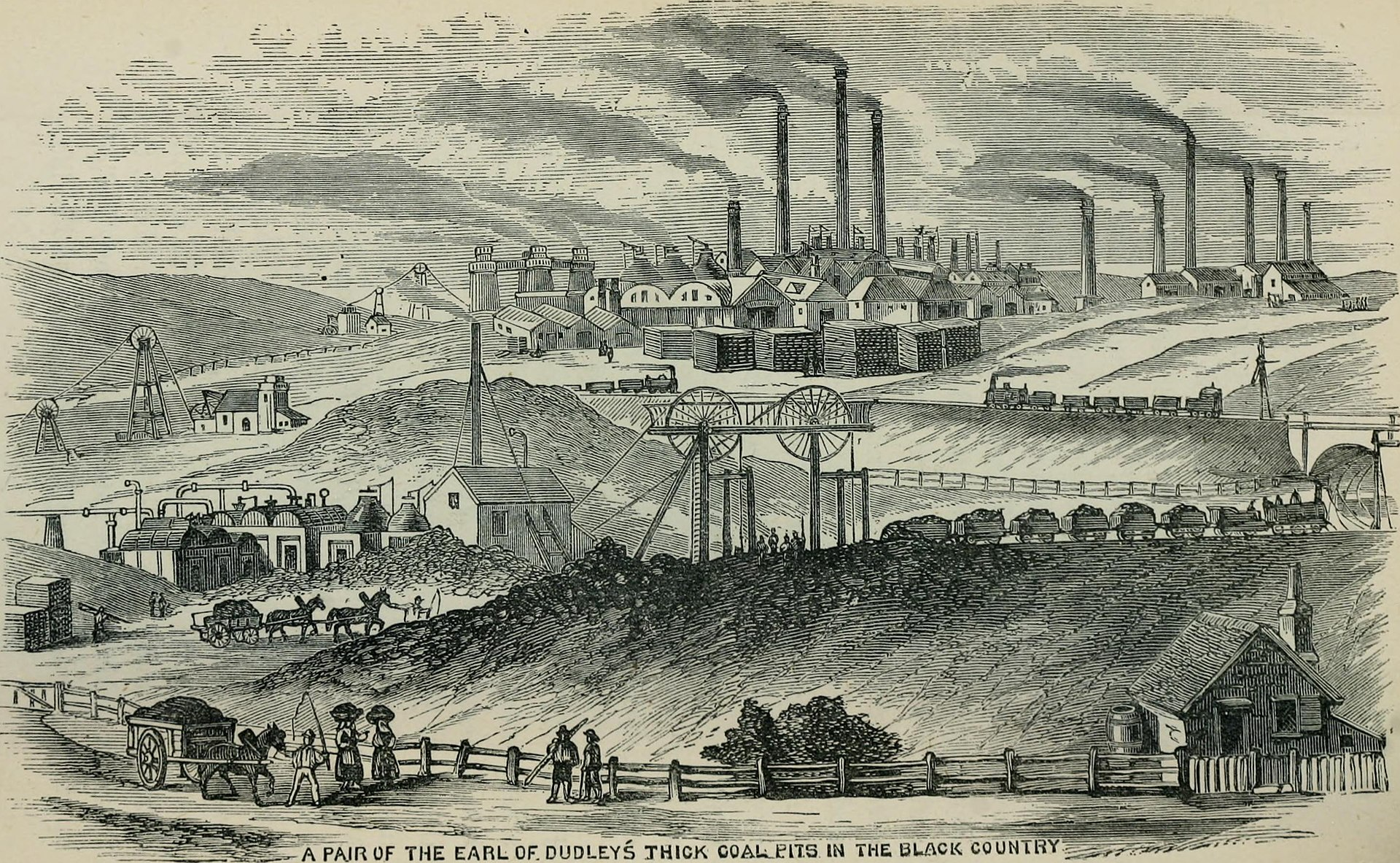 The Black Country in the 1870s