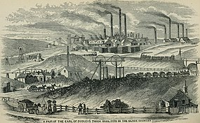 Griffiths' Guide to the iron trade of Great Britain an elaborate review of the iron (and) coal trades for last year, addresses and names of all ironmasters, with a list of blast furnaces, iron (14761790294).jpg