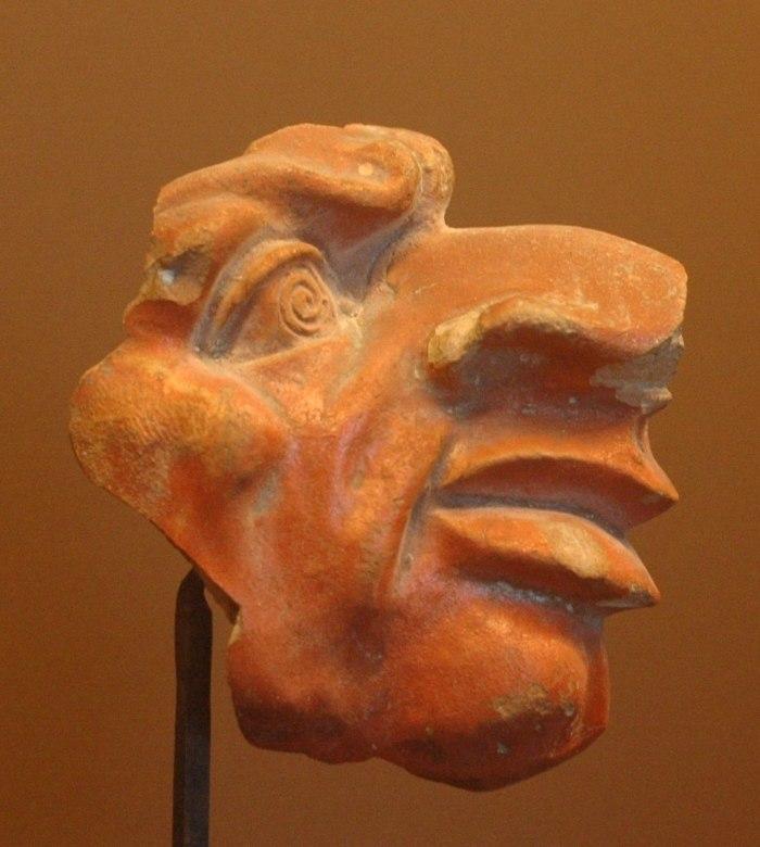 Grotesque mask Louvre CA4350