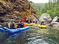 Group of Kayaker's on Chetco River, Rogue River Siskiyou National Forest (25231103506).jpg