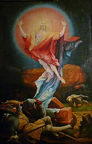 The Resurrection from Grünewald