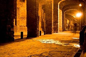 Guanajuato City - Street tunnel