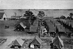 Guantanamo Bay Naval Base - The base in 1916