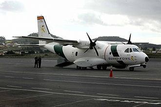 Civil Guard (Spain) - Guardia Civils CASA CN235 surveillance aircraft