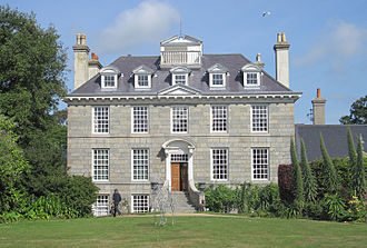 Baron de Saumarez - Sausmarez Manor, Guernsey