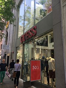guess clothing wikipedia
