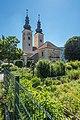 Gurk Domplatz 1 Domstift Torturm und Dom NW-Ansicht 06072020 9247.jpg