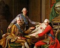 Gustav III, King of Sweden, and his brothers.jpg