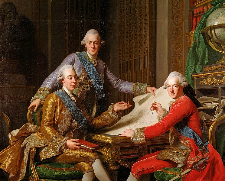 File:Gustav III, King of Sweden, and his brothers.jpg