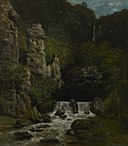 Gustave Courbet - Landscape with a Waterfall - 1956.31.1 - Yale University Art Gallery.jpg