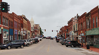 Guthrie Historic District (Guthrie, Oklahoma) United States historic place