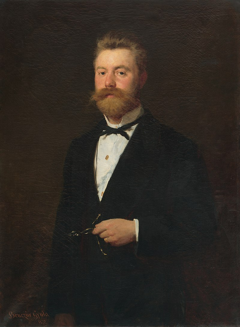 Gyula Benczúr - Oficiálna podobizeň muža. Podobizeň Gejza Bencúr. - O 130 - East Slovak Gallery.jpg