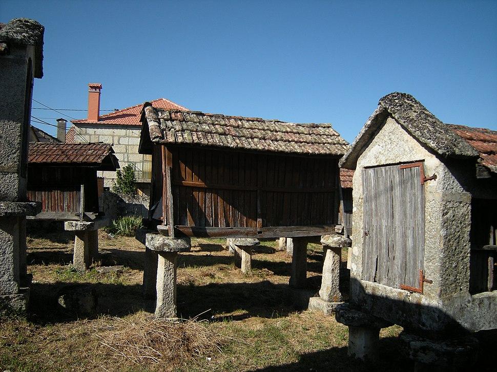 Hórreos de Muimenta, Carballeda de Avia, Galiza