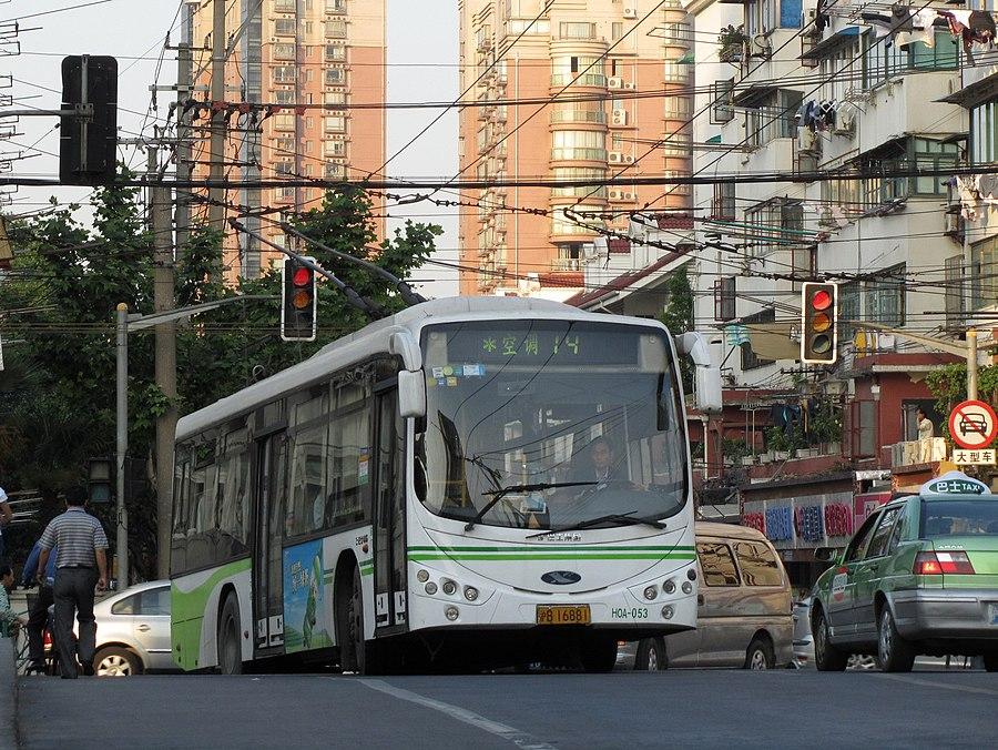 Trolleybuses in Shanghai