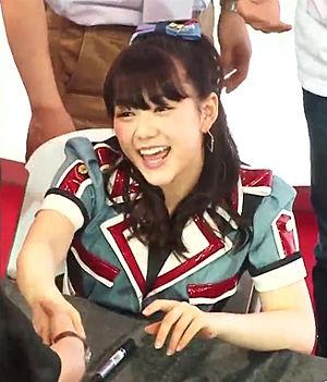 Anna Murashige - Image: HKT48 Fans Meeting 2015 05 12 @ 西九龍中心 (村重杏奈) 02