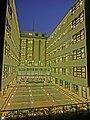 HK 深水埗 SSP 美荷樓青年旅舍 YHA Mei Ho House Youth Hostel - Block 41 Shek Kip Mei Estate 巴域街 Berwick Street Sham Shui Po Oct-2013 evening courtyard 01.JPG