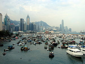 Causeway Bay Typhoon Shelter - Image: HK Causeway Bay Typhoon Shelter 2006