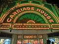 HK Disneyland USA Main Street Halloween night shop lighting Oct-2013 Carriage House.JPG