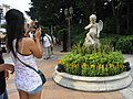 HK Kln Park Erotic Love Cupid camera view planter Oct-2012.JPG