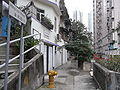 HK Sheung Wan 永利街 Wing Lee Street 02 back lane.JPG