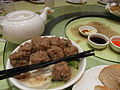 HK TST restaurant 內蒙古 小肥羊 Little Sheep Group food beef ball May-2012.JPG