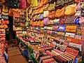 HK Yau Ma Tei 廟衙 夜市 攤販 Temple Street night 28 stall Apr-2013 Ladies handbags.JPG