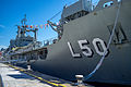 HMAS Tobruk (L 50) at Garden Island.jpg
