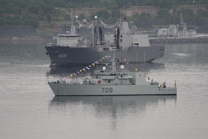 HMCS Moncton - IFR 2010