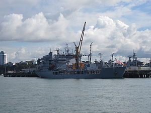 HMNZS Endeavour at Devonport June 2012.JPG