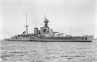 HMS Hood (51) - March 17, 1924