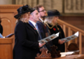 HRH Prince Andrew, Secretary of State Karen Bradley & Irish Minister Damien English joined church leaders & other invited guests for a special Service of Remembrance commemorating the end of WW1 at the Belfast Cathedral. (45796409192).png