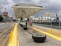 HSY- Los Angeles Metro, Little Tokyo-Arts District, Platform View.jpg