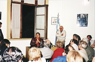 Hugo Chávez - Chávez speaking at an event in Buenos Aires in October 1995