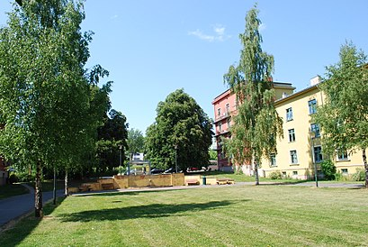 How to get to Haarklous Plass with public transit - About the place