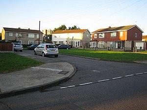Hainault, London - Image: Hainault, Huntsman Road geograph.org.uk 602684