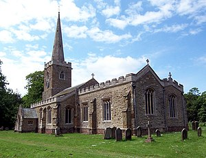 Edward James Willson - Hainton Church - geograph.org.uk - 186087