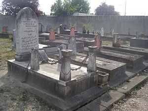 Bobigny cemetery - Image: Hairi