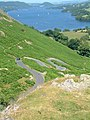 Hairpin bends on Howtown to Martindale road - geograph.org.uk - 1750747.jpg