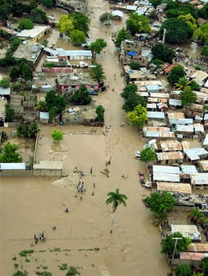 Hurricane Jeanne - Flooding in Haiti