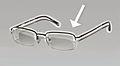 Half rim glasses with frame highlighted.jpg