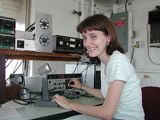 Amateur radio operator - An amateur radio operator