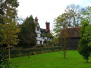 Burgess Hill - Hammonds Place farmhouse.