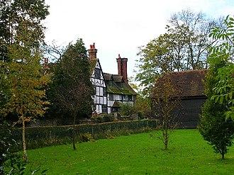 Burgess Hill - Hammonds Place farmhouse.