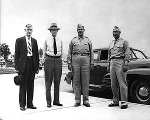 Quebec Agreement - Vannevar Bush, James B. Conant, Leslie Groves and Franklin Matthias