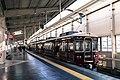 Hankyu 6000 6100F at Kawanishi-Noseguchi 2016-12-18.jpg