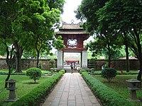 O Templo da Literatura em Hanói