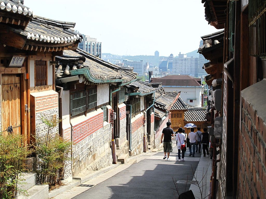 Hanok Village near Insadong, Seoul