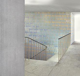 Hans Danuser - Hans Danuser, Akka Bakka, 2013, art-in-architecture project, Department of Health, Canton Zurich.