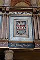 Hanstorf Kirche Logenwappen Otto Christian von Oertzen.jpg