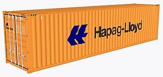 Hapag-Lloyd - Image: Hapag Lloyd shipping container
